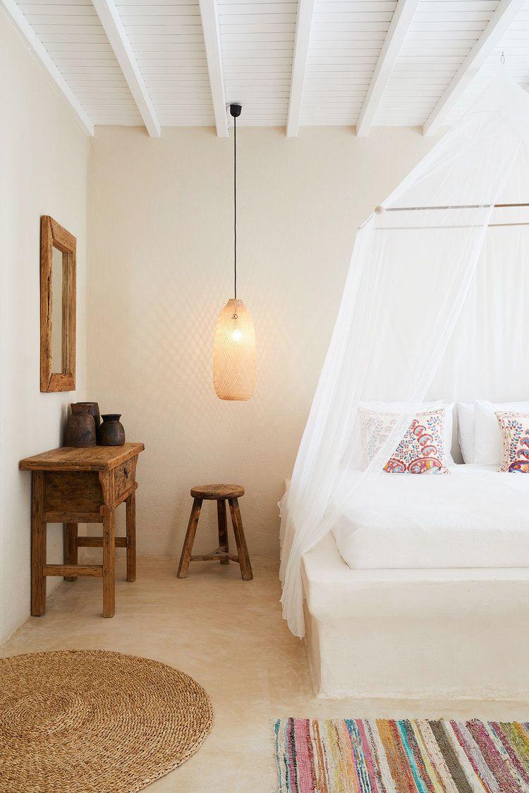 أفضل ألوان غرف النوم - اللون العاجي