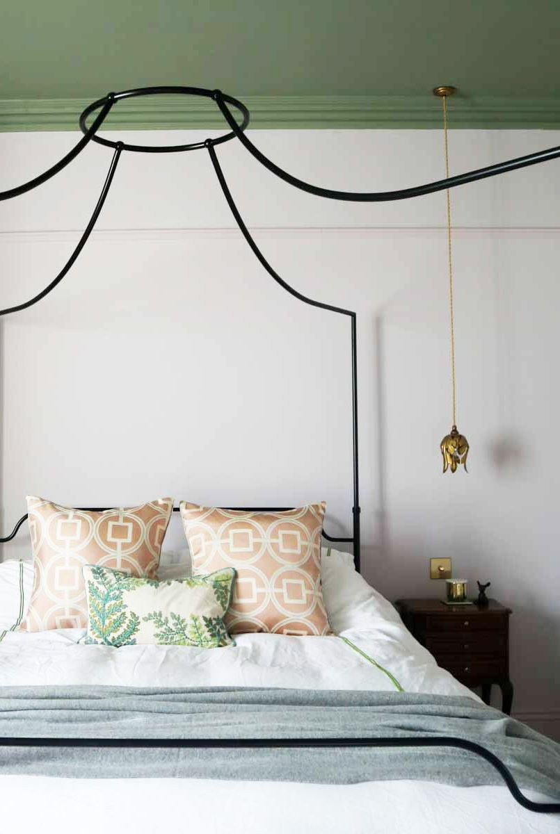أفضل ألوان غرف النوم - الأخضر الفاتح