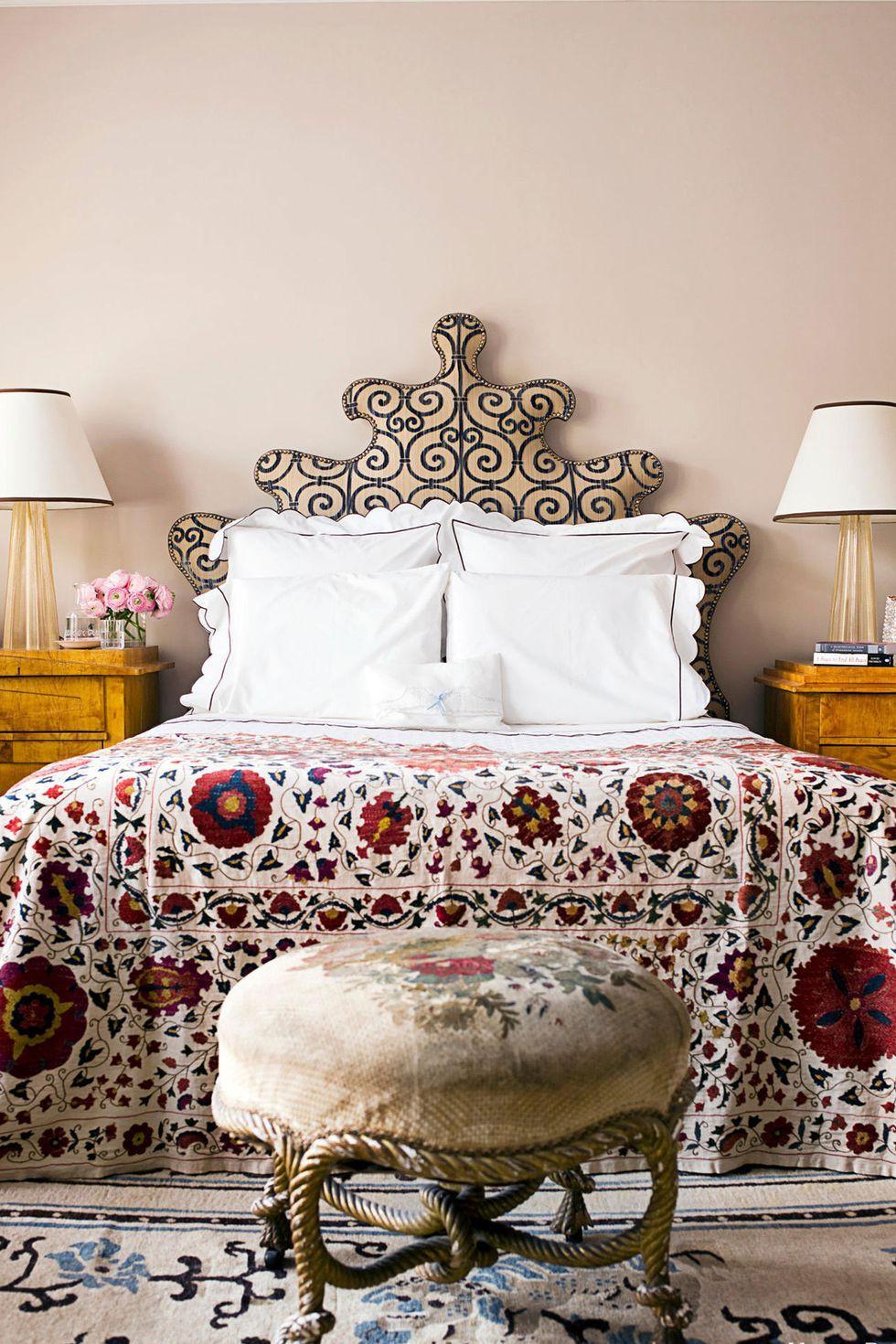 أفضل ألوان غرف النوم - الوردي الفاتح