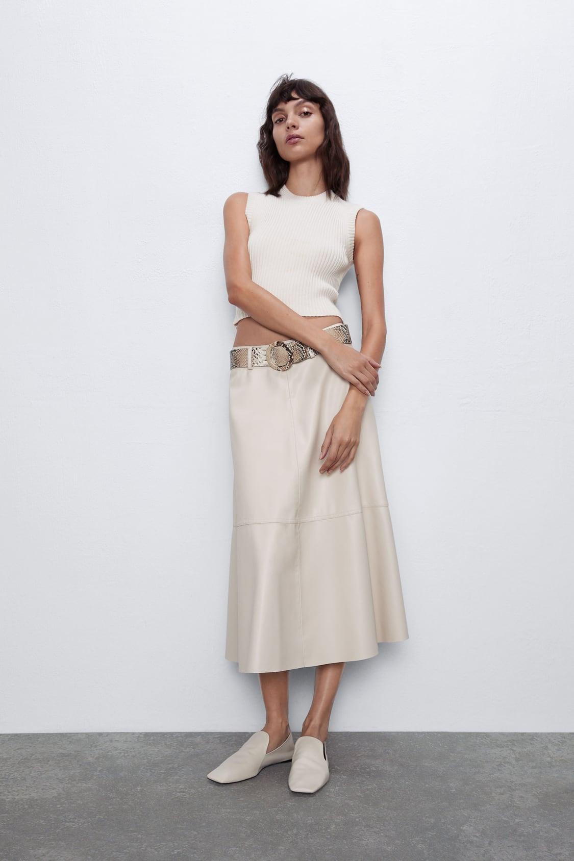 أنواع قماش الجيبات - موديلات جيبات جلد