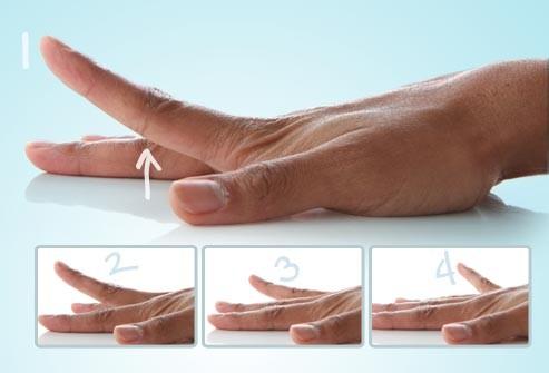 تمارين اليدين للتنحيف - تمديد الأصابع