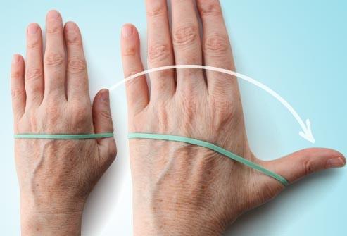 تمارين اليدين للتنحيف - تمديد الإبهام