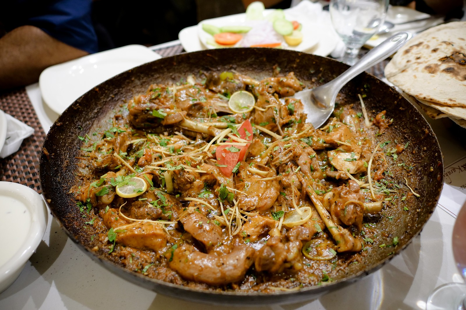 7 أكلات باكستانية مشهورة-الكارهاي الباكستاني