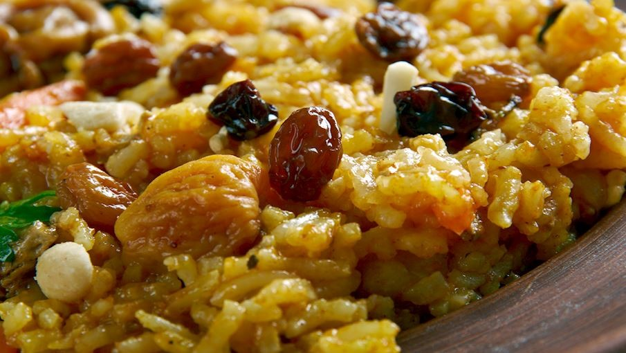 7 أكلات باكستانية مشهورة- الزرددة الباكستاني