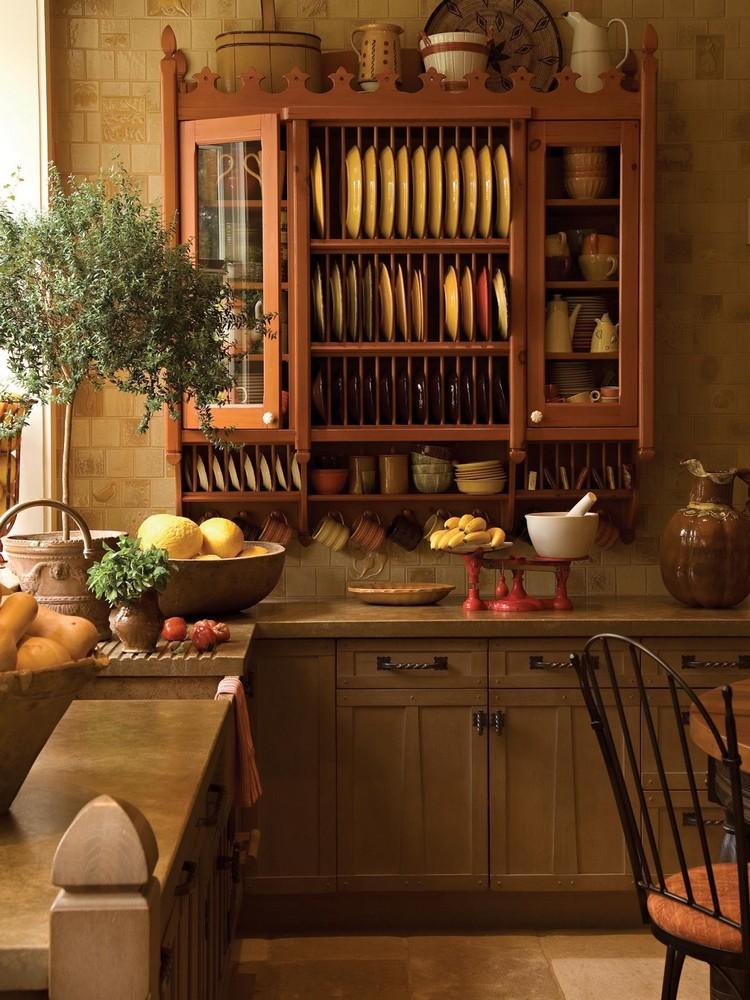 ديكورات مطابخ إيطاليه-حائط المطبخ