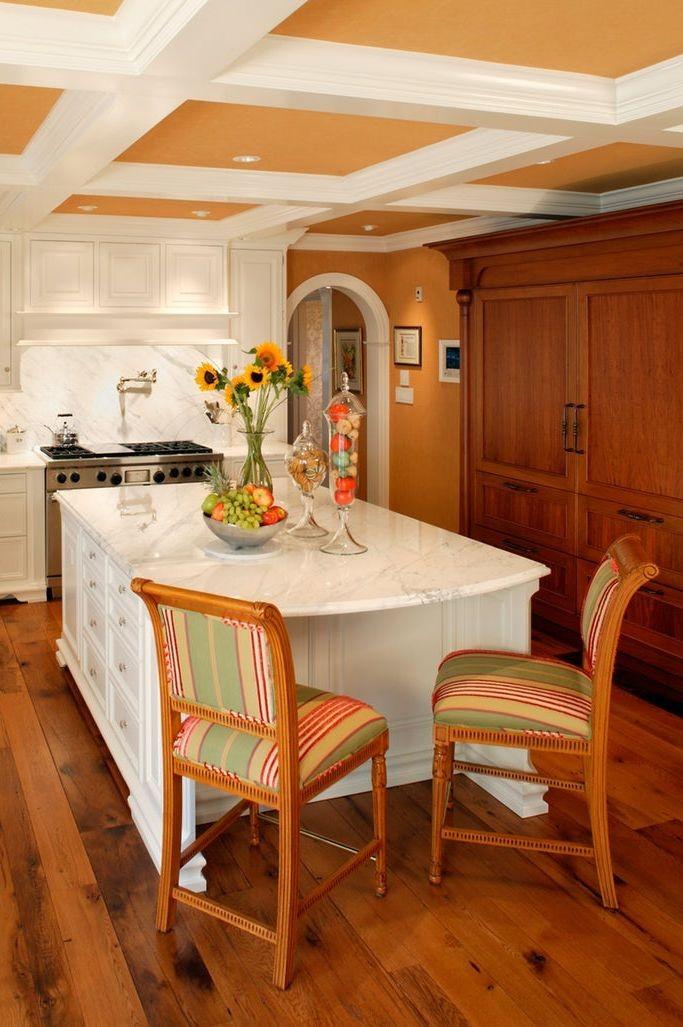 بالصور ديكورات للمطبخ باللون البرتقالي-اكسسوارات المطبخ