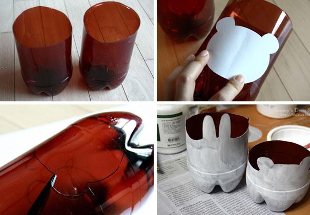 7 أفكار بسيطة لإعادة استخدام الزجاجات الفارغة-تعليقة