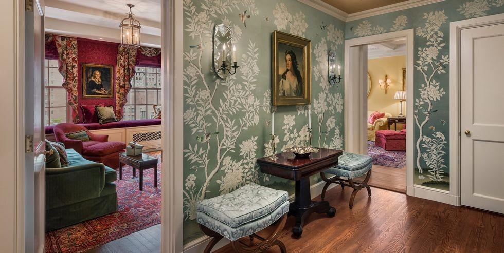 ديكور مدخل البيت- ورق حائط 1