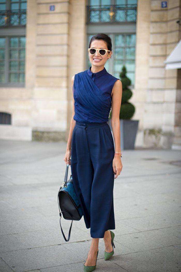 ملابس للعمل باللون الأزرق-أزرق بالكامل