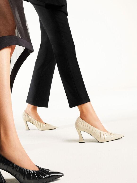 أشكال أحذية فورمال-حذاء بكعب