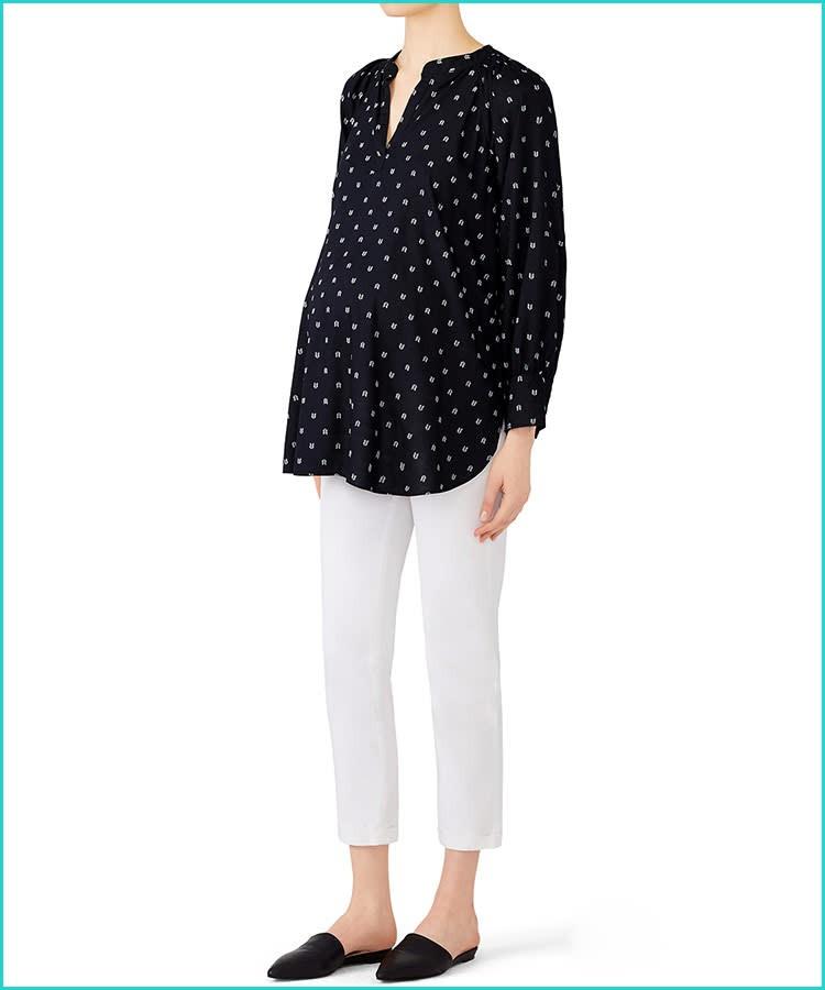 ملابس للحوامل مناسبة للعمل-بلوزة الحمل