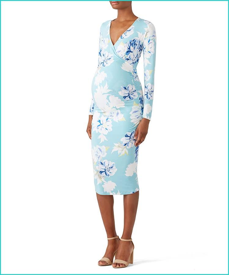 ملابس للحوامل مناسبة للعمل-فستان الحمل