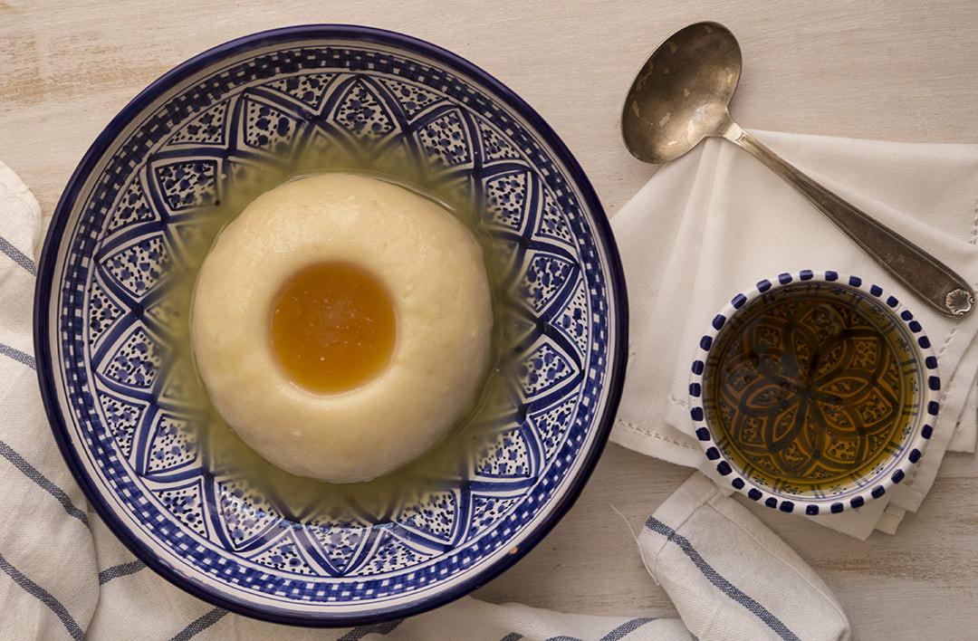 طريقة عمل حلويات ليبية - طريقة عمل العصيدة الليبية
