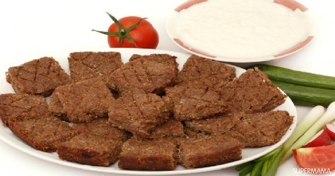 أكلات رمضانية جديدة - طريقة عمل صينية الكبيبة في الفرن