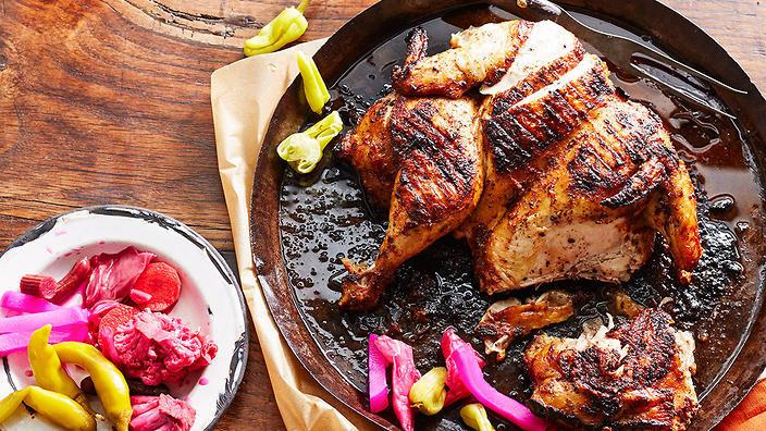 أكلات رمضانية جديدة - طريقة عمل مسحب الدجاج