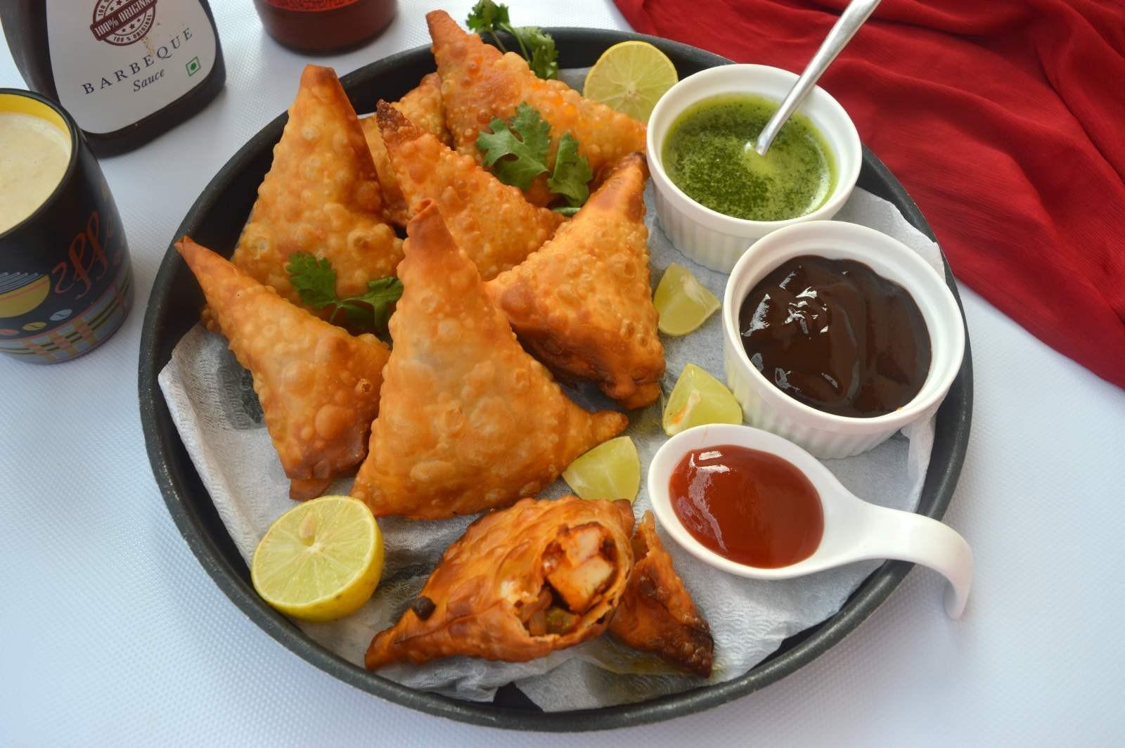 أكلات رمضانية بالصور والمقادير - طريقة عمل السمبوسك الهندي