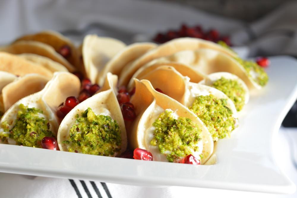 أكلات رمضانية لبنانية - طريقة عمل قطايف لبنانية عصافيري