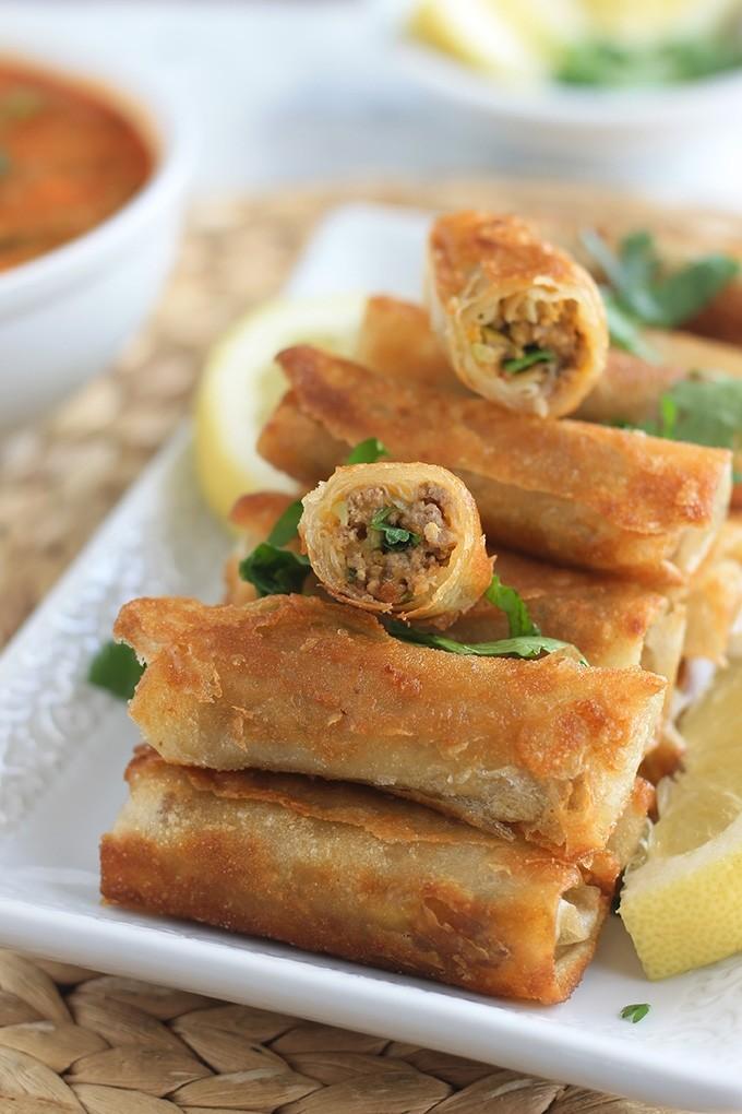 أكلات رمضانية جزائرية - طريقة عمل البوراك الجزائري