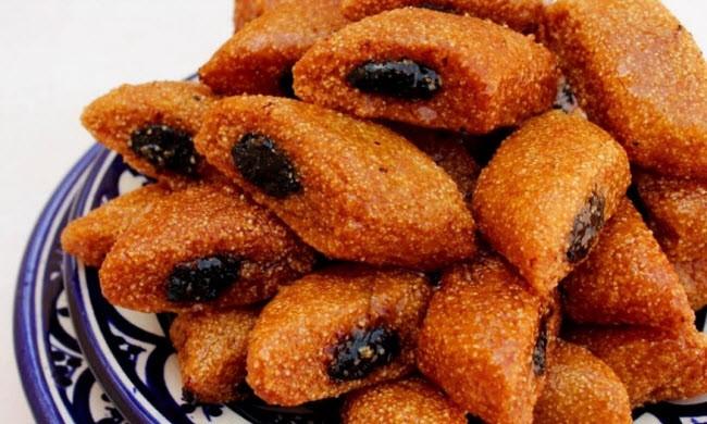 حلويات العيد الجزائرية - طريقة عمل المقروط الجزائري