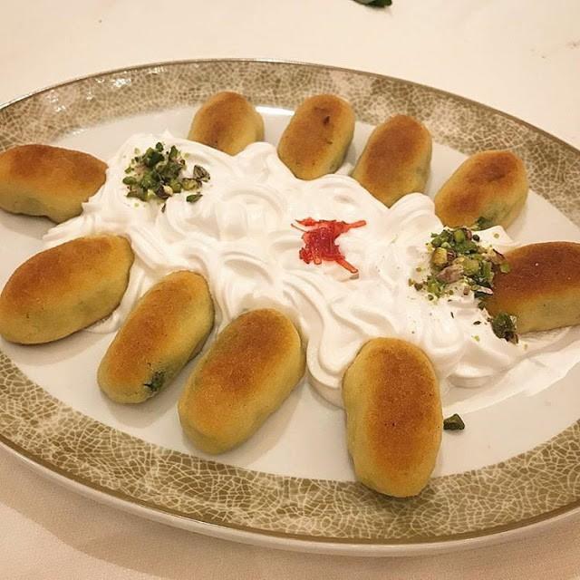 حلويات العيد السورية - طريقة عمل الكرابيج الحلبية