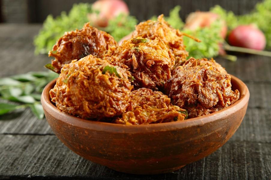 أكلات هندية نباتية - طريقة عمل الباكورا الهندية