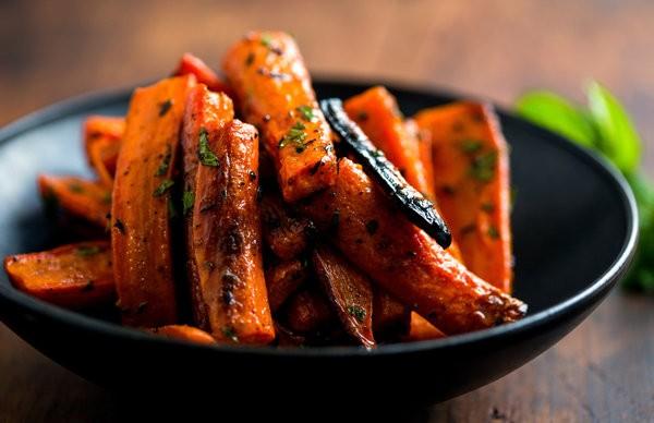 أكلات هندية نباتية - طريقة عمل الجزر المخبوز في الفرن على الطريقة الهندية