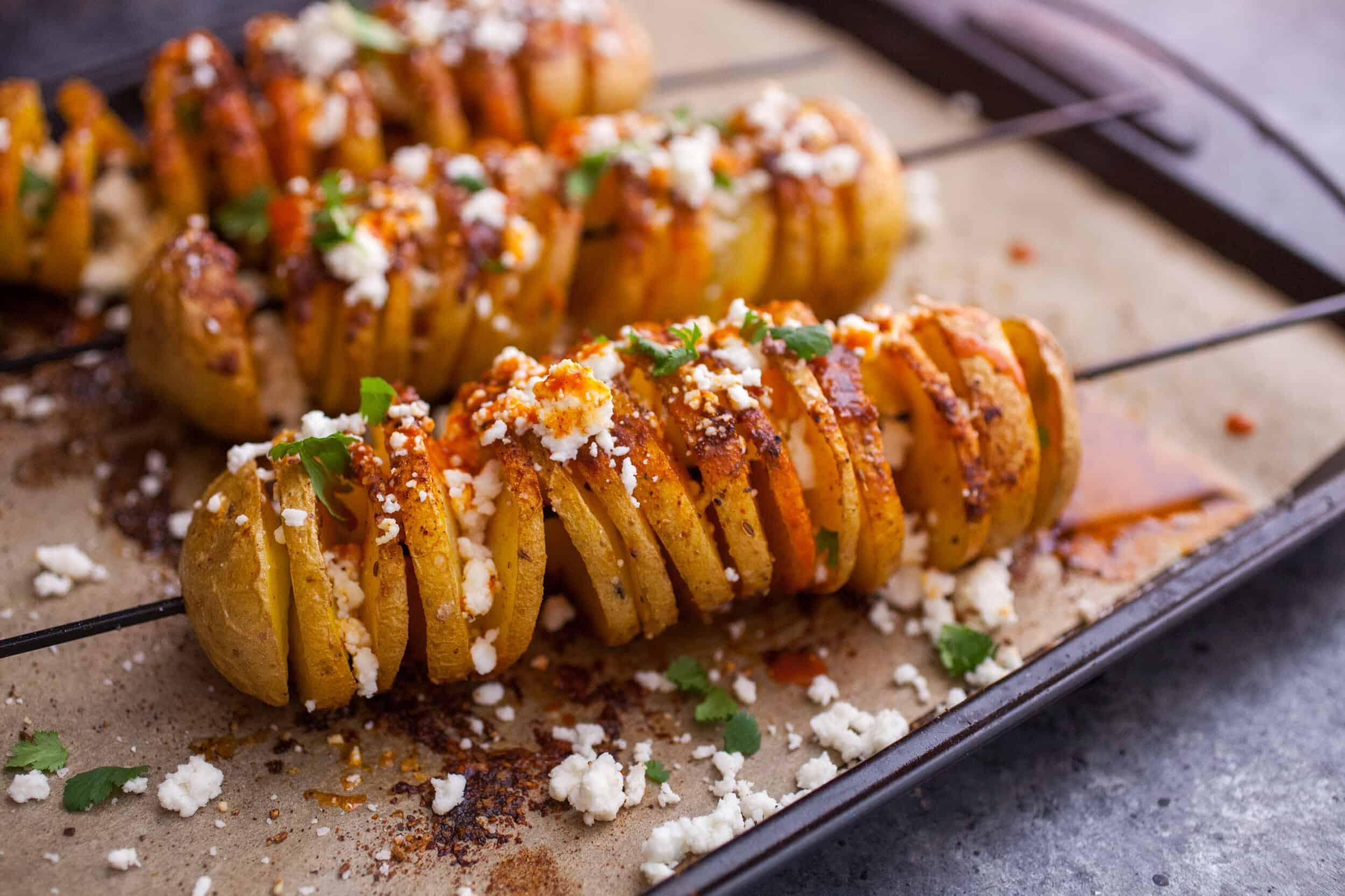 أكلات سريعة التحضير بالبطاطس - طريقة عمل بطاطس تورنادو