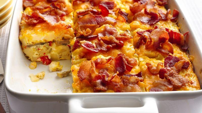 أكلات سريعة التحضير بالبطاطس - طريقة عمل بيض بالبطاطس المقلية