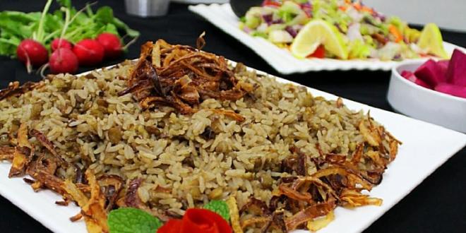 أكلات فلسطينية - طريقة عمل المجدرة الفلسطينية