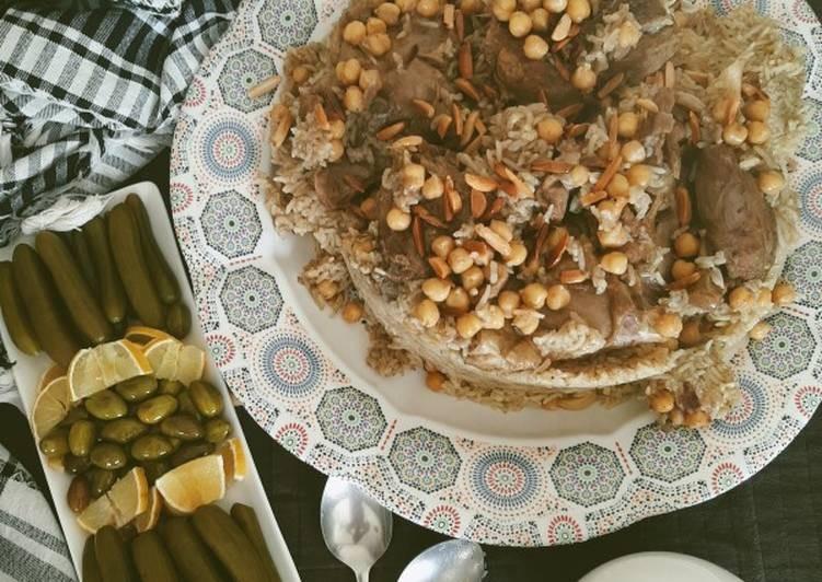 أكلات فلسطينية - طريقة عمل القدرة الفلسطينية