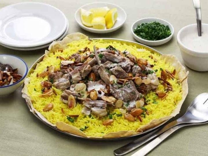 أكلات فلسطينية - طريقة عمل المنسف الفلسطيني