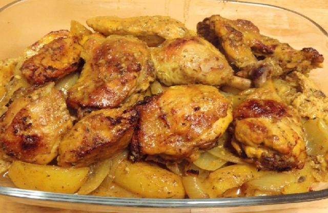أكلات عراقية بالدجاج - طريقة عمل تبسي الدجاج