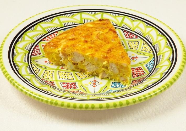 أكلات تونسية سريعة وسهلة - طريقة عمل طاجين تونسي بالدجاج