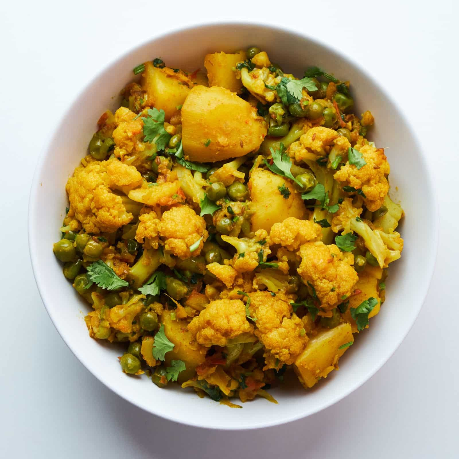 أكلات هندية بالبطاطس - طريقة عمل الآلو جوبي الهندي