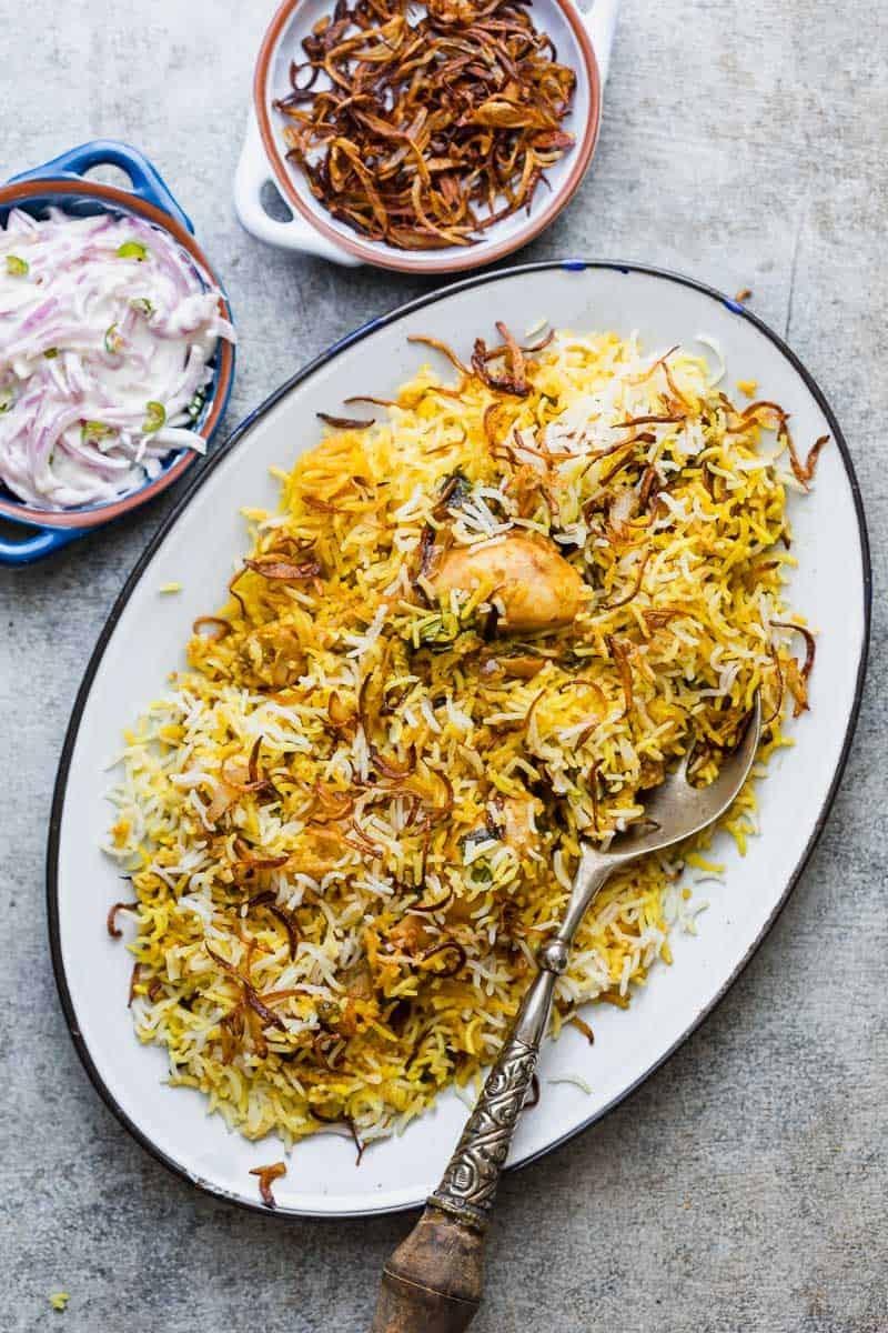 أشهر الأكلات الهندية - طريقة عمل البرياني الهندي