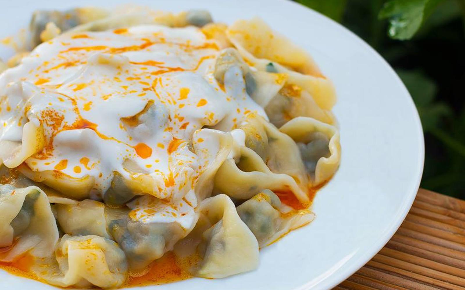 أشهر الأكلات التركية - طريقة عمل المانتي التركي