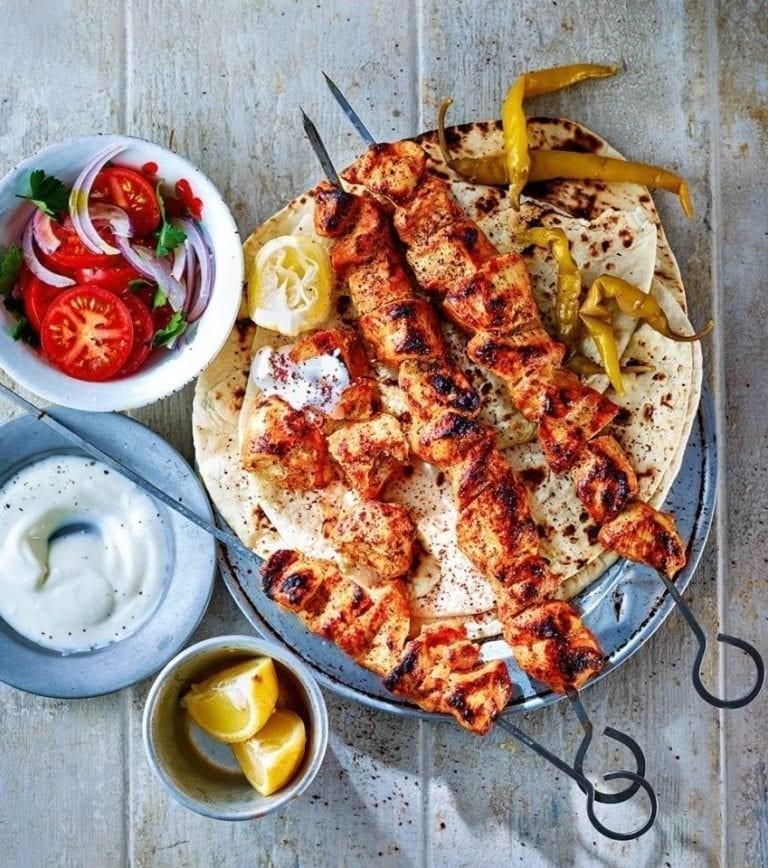 أشهر الأكلات التركية - طريقة عمل شيش كباب التركي