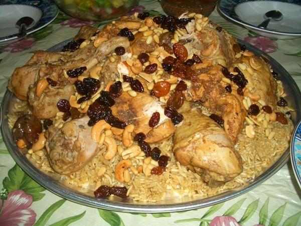 أكلات عراقية بالدجاج - طريقة عمل الكبسة العراقية بالدجاج