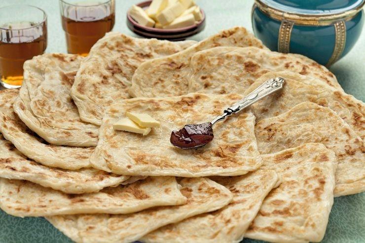 فطور صباحي مغربي - طريقة عمل المسمن المغربي
