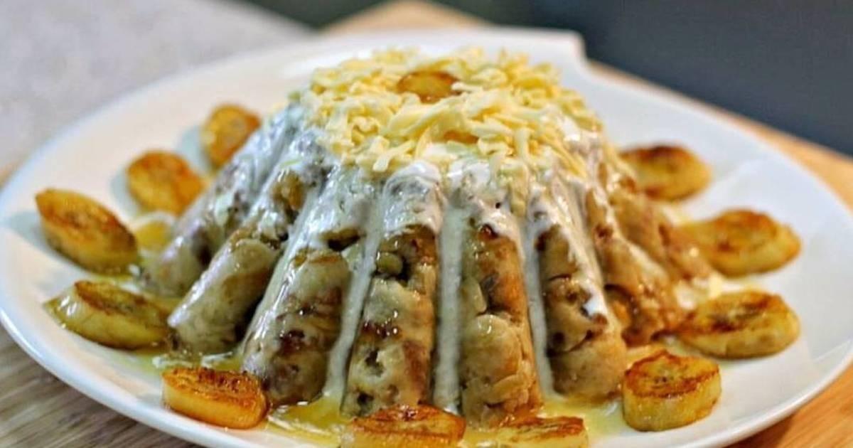 أكلات شعبية سعودية للفطور - طريقة عمل المعصوب السعودي