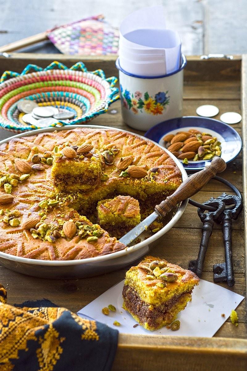 حلويات فلسطينية - طريقة عمل حلوى الدحدح الفلسطينية
