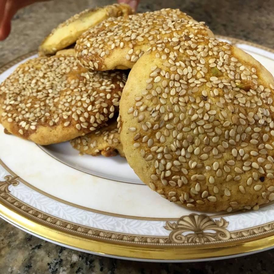 حلويات فلسطينية - طريقة عمل البرازق الفلسطينية