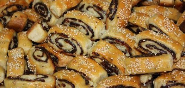 حلويات فلسطينية - طريقة عمل المقروطة الفلسطينية