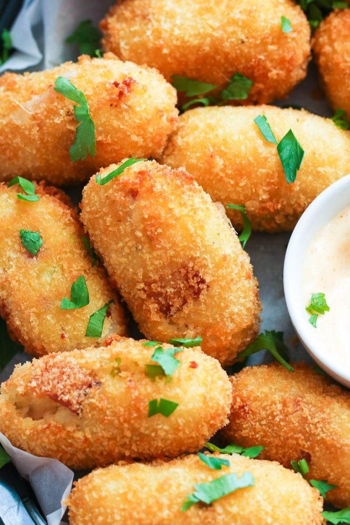 وصفات للعشاء بالبطاطس - طريقة عمل كروكيت البطاطس