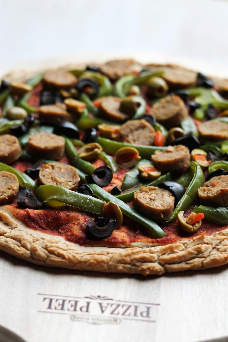 وصفات للعشاء بالبطاطس - طريقة عمل بيتزا البطاطس