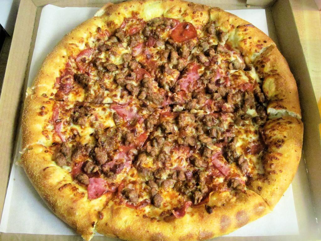 حشوات للبيتزا - طريقة عمل بيتزا اللحم المفروم