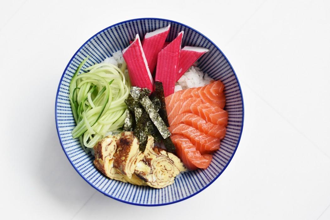 أنواع السوشي - طريقة عمل سوشي الشيراشي