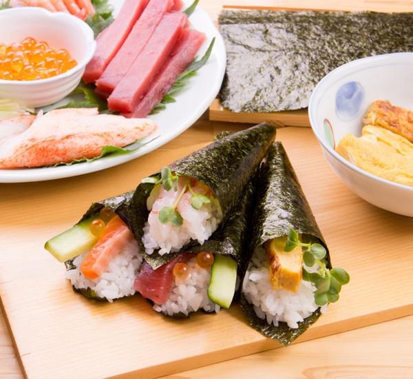 أنواع السوشي - طريقة عمل سوشي التيماكي