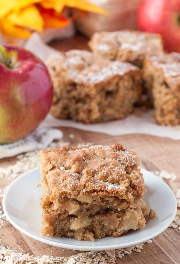 حلويات بالتفاح - طريقة عمل كيكة التفاح بالقرفة