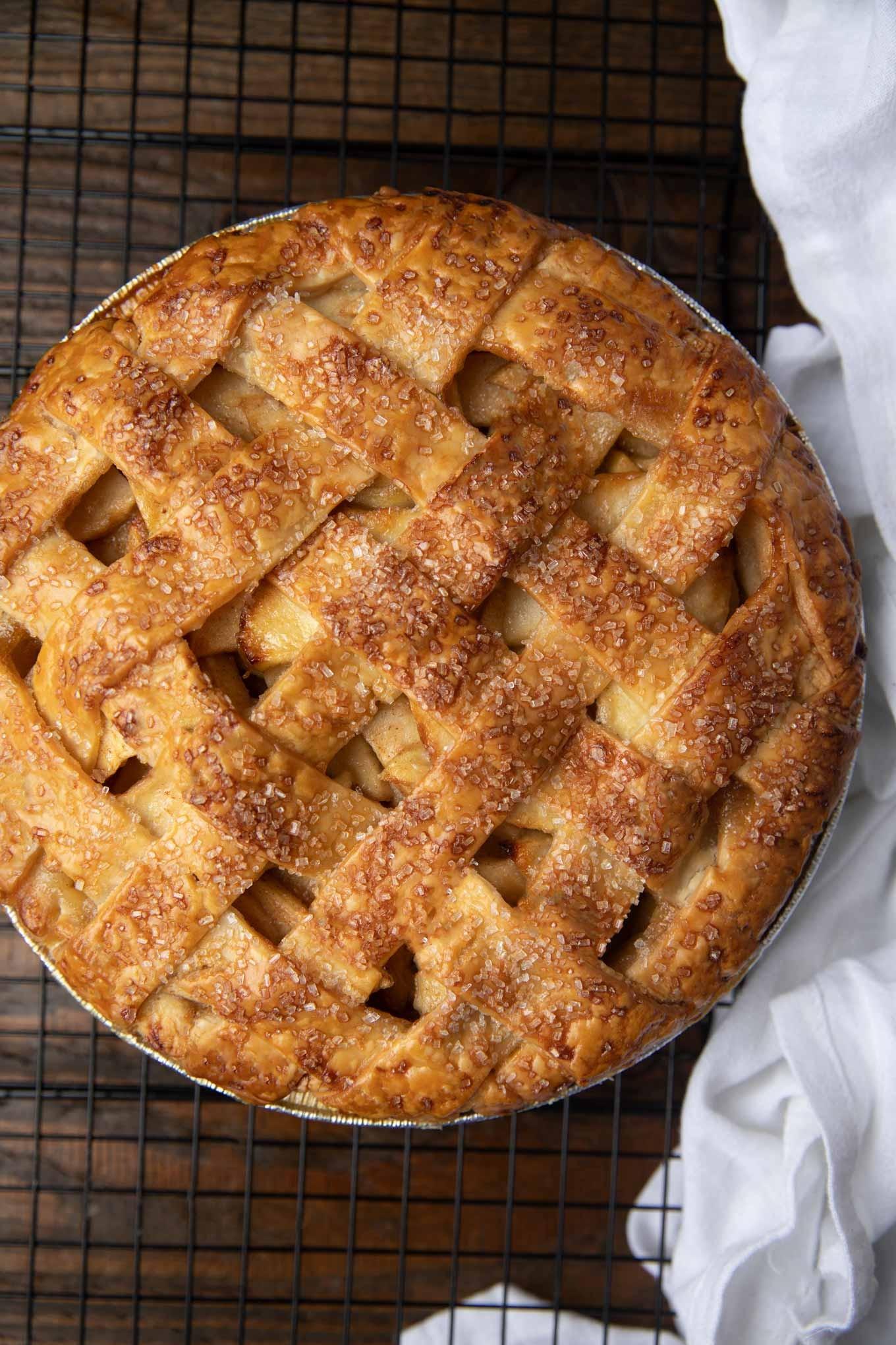حلويات بالتفاح - طريقة عمل فطيرة التفاح